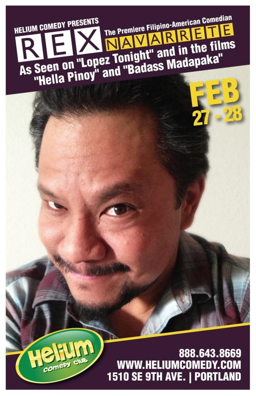 See Rex Navarrete in PDX on Feb 27-28!